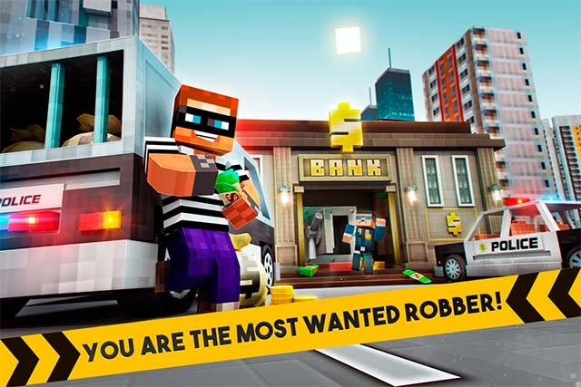 🚔 Robber Race Escape 🚔 Screenshot 0