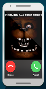 Five nights fгеddy fake call APK for Bluestacks