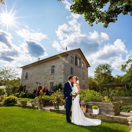 Sunny Day wedding by Robert Blair - Wedding Bride & Groom ( family photographer, wedding photography, belleville photographer, belleville wedding photographer, weddings, image plus photography )