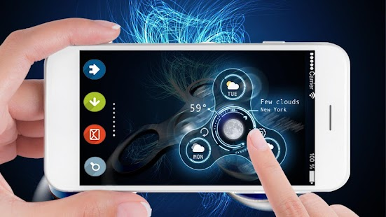 Virtuelles Fidget Spinner Spiel android apps download