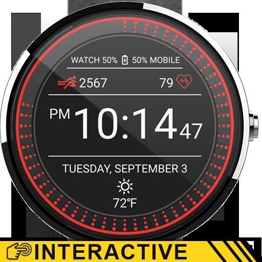 Running Watch Face - screenshot