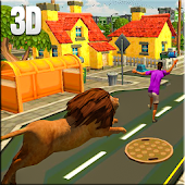 Game Hungry Lion Hunting in City 3D APK for Windows Phone
