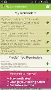 App My Diet Coach - Pro apk for kindle fire