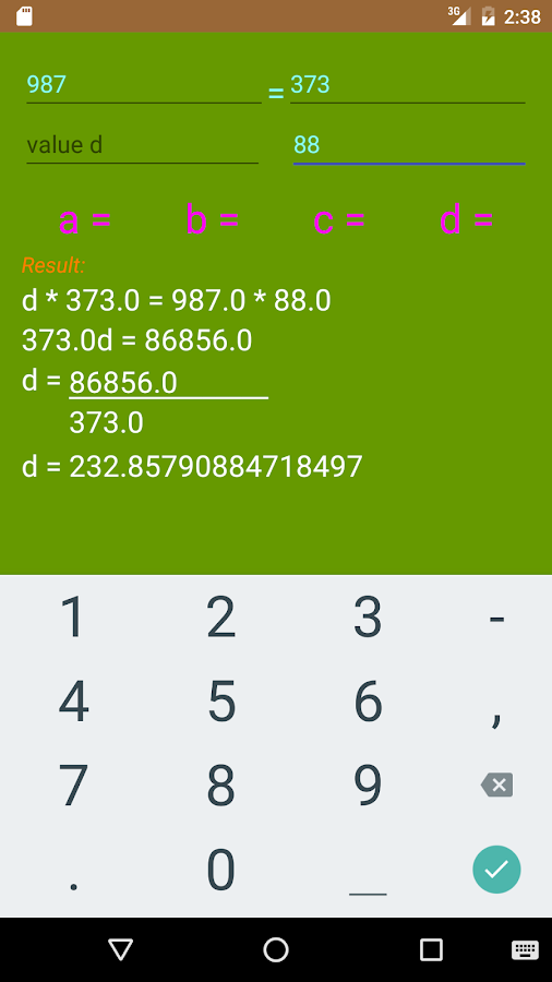 Calculator Board Screenshot 1