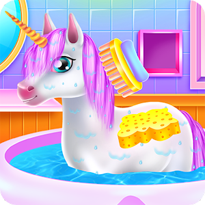Cute Unicorn Caring and Dressup For PC