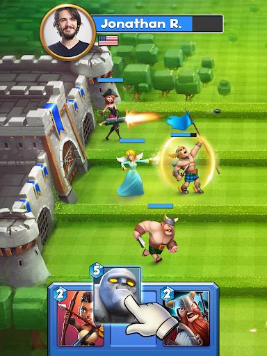 Castle Crush: Clash in Free Strategy Card Games screenshot 7