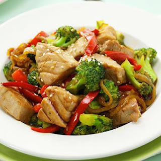 Tuna & Broccoli Stir Fry