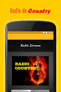 Radio De Country Buenas Gratis - screenshot