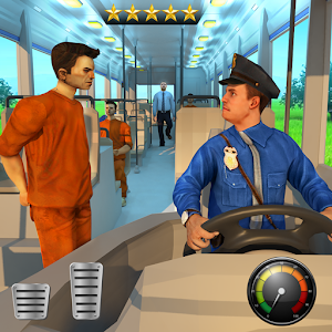 Jail Prisoner Transport Police Bus Drive For PC / Windows 7/8/10 / Mac – Free Download