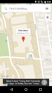 The Ohio State Maps - screenshot
