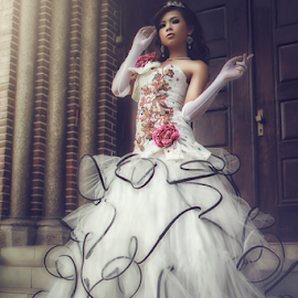 All For The Princess by Anthony Harman - Wedding Bride ( model, fashion )