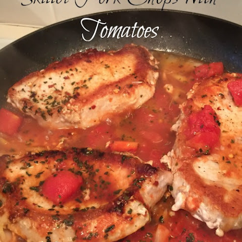 Skillet Pork Chops with Tomatoes