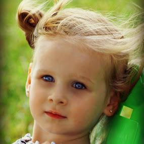 Chillin' on Memorial Day by Teresa Delcambre - Babies & Children Children Candids ( child, girl, blond, blue eyes, pretty )
