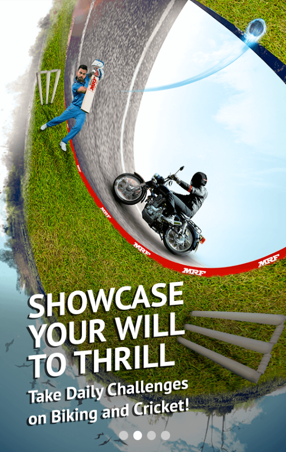 Ride Along-Biker's Cricket App Screenshot 9