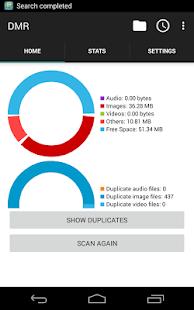 Duplicate Media Remover Screenshot