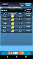 Screenshot of MeteoLive.it