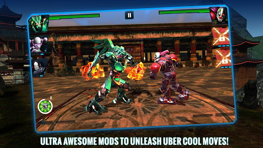 Ultimate Robot Fighting - screenshot