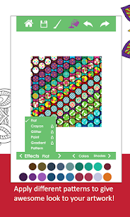 ColorDiary-Adult Coloring Book - screenshot