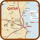 Map Of Qatar –Travel APK Icon