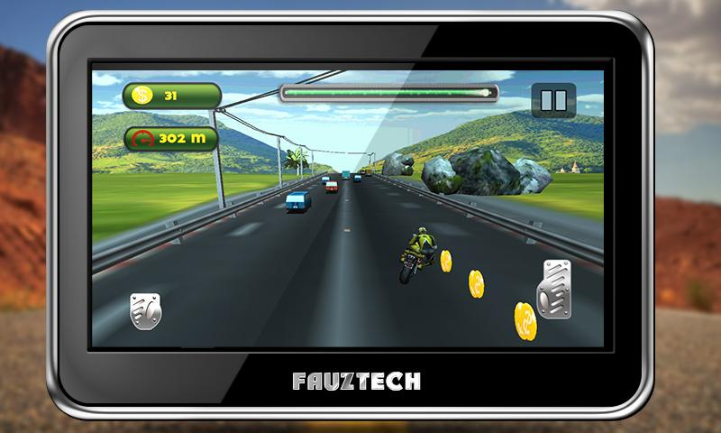 Highway Traffic Moto Racing Screenshot 6