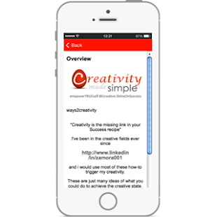 Ways 2 Creativity Listing - screenshot