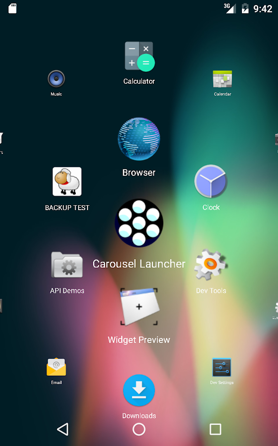 Carousel Launcher Screenshot 6