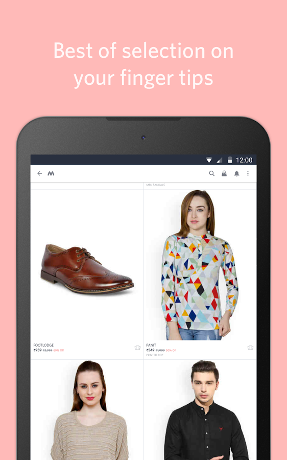 Myntra Online Shopping App Screenshot 9