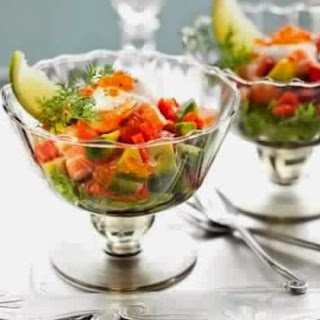 Salad Of Shrimp And Avocado