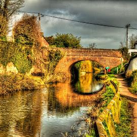 Bridge by Steve Rowe - Digital Art Places
