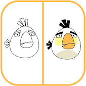 Download Android App How To Draw Angry Birds White for Samsung
