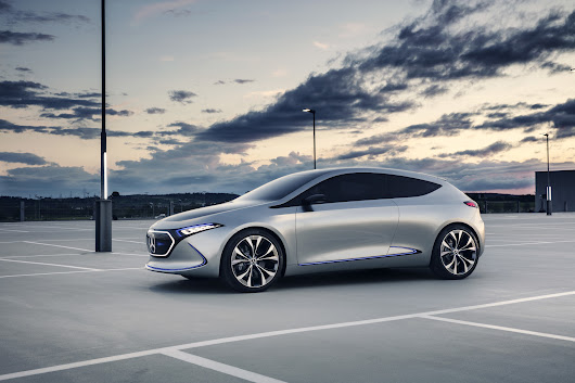 Concept Electric Intelligence Athlet – Mercedes