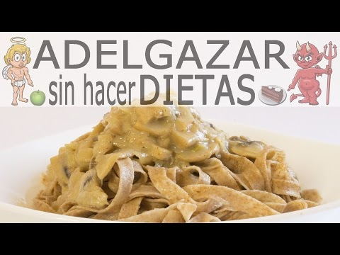 Pasta Con Salsa De Champinones Adelgazar Sin Hacer