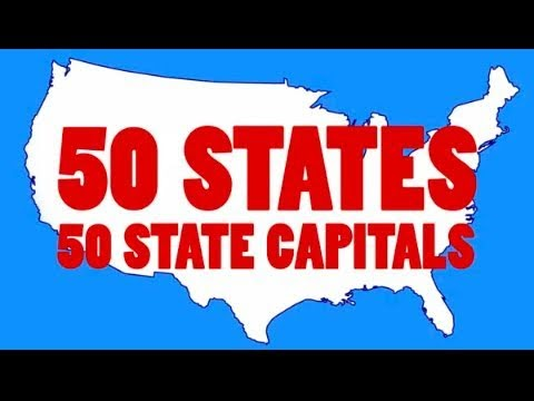 A Little Tech Learn The 50 States Capitals And Abbreviations