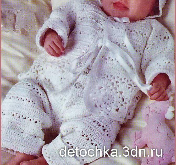 Верена вязание для новорожденных 498