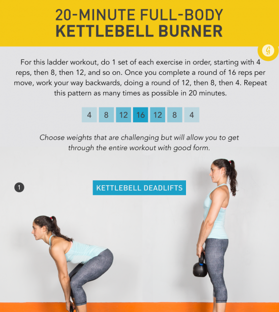 Kettlebell ГИРЯ The 20 Minute Workout That Strengthens Your Whole Body