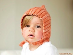 Узоры для шапочек для самых маленьких