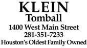 Funeral Home «Klein Memorial Park», reviews and photos, 1400 W Main St, Tomball, TX 77375, USA