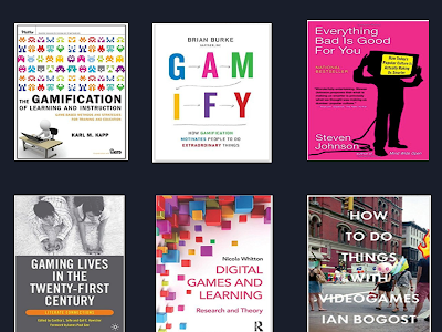 12 Great Books on The Importance of Game-based Learning
