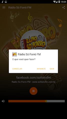 Rádio Só Forró FM Screenshot