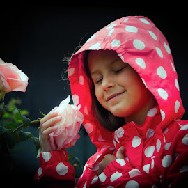 Emotions by Andre Oelofse - Babies & Children Children Candids ( children, children candids, flowers )