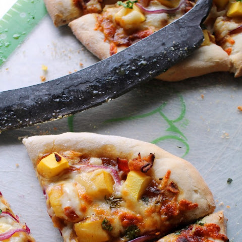 BBQ BACON MANGO PIZZA