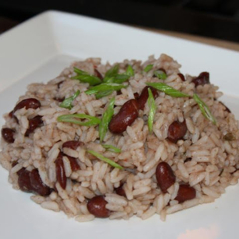 Classic Island Peas And Rice.