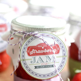 Low-Sugar Strawberry Freezer Jam