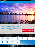 Screenshot of SDG&E Bill and Energy App
