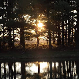Sunset..... by Valerie Paree - Landscapes Sunsets & Sunrises