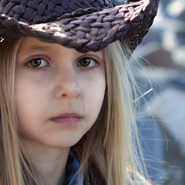 cowgirl by Mark Warick - Babies & Children Child Portraits