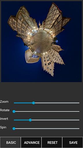 Tiny Planet FX Pro - screenshot
