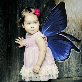 Annalise by Jenny Hammer - Babies & Children Babies ( toddler, baby, girl, cute, fairy )