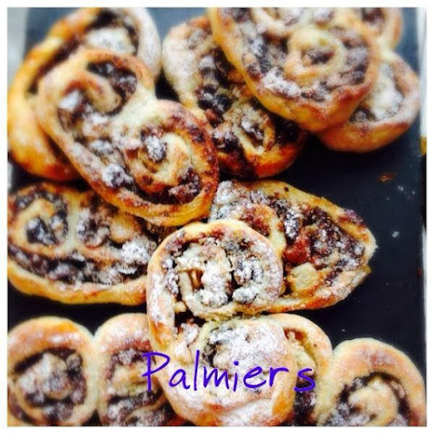 Christmas Palmiers (Apple & Mincemeat)