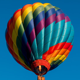 Fire In The Sky by Dave Dabour - Transportation Other ( farmers fair, warren county, 2016, hot air balloons )